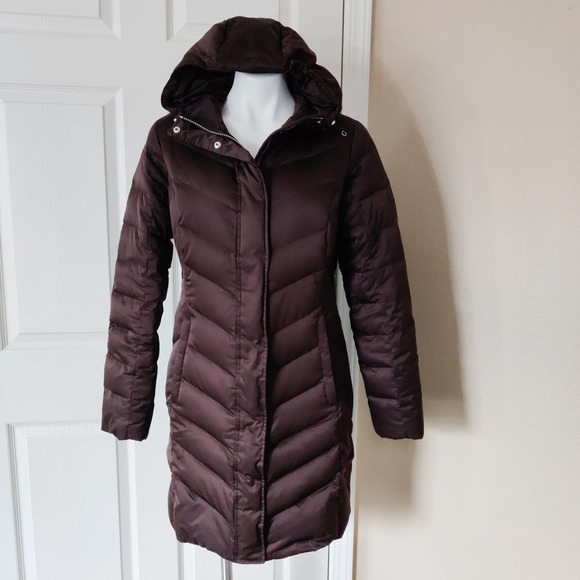 Eddie Bauer EB550 fill power goose down coat sz S